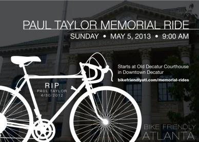 Paul Taylor large flyer